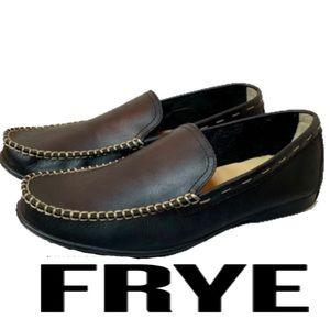 Frye Men's Leather Slip On Loafers